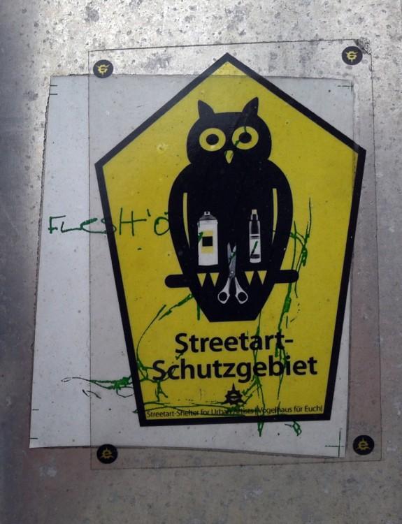 Streetart Schutzgebiet